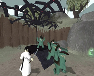Test Samurai Jack : The Shadow Of Aku Gamecube - Screenshot 2