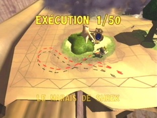 Test Shrek : Extra Large Gamecube - Screenshot 1