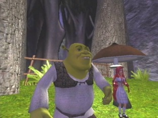 Test Shrek : Extra Large Gamecube - Screenshot 2