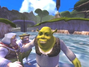 Test Shrek : Extra Large Gamecube - Screenshot 3