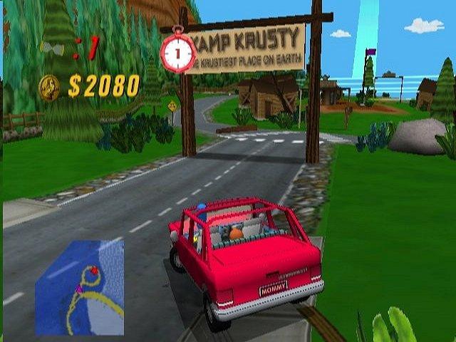 The Simpsons : Road Rage