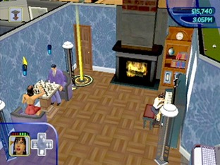 Test Les Sims Gamecube - Screenshot 2