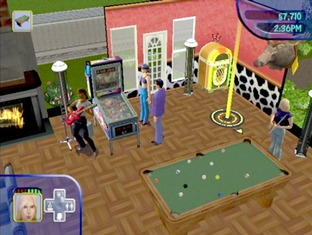 Test Les Sims Gamecube - Screenshot 3