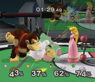 Test Super Smash Bros Melee Gamecube - Screenshot 19