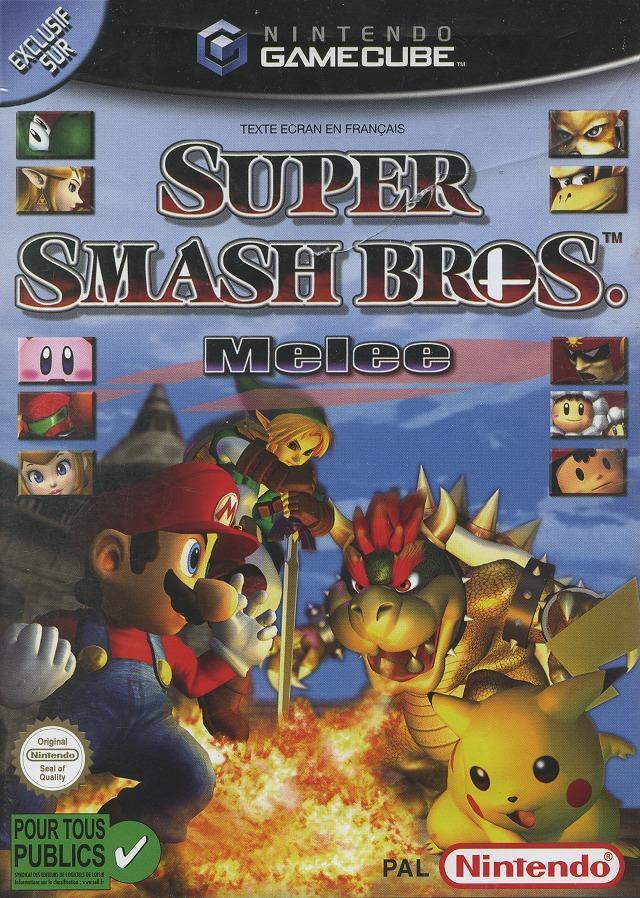 Super smash bros Melee Smabgc0f