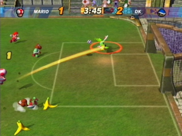 Images Mario Smash Football Gamecube - 76
