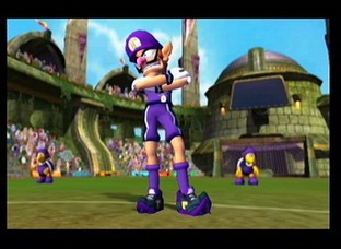 Waluigi dans Mario Smash Football
