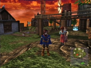 Test Skies Of Arcadia Legends Gamecube - Screenshot 9