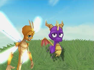 Test The Legend Of Spyro : A New Beginning Gamecube - Screenshot 1