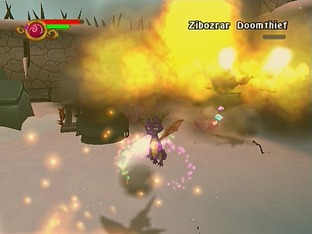 Test The Legend Of Spyro : A New Beginning Gamecube - Screenshot 2
