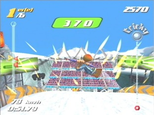 Test SSX Tricky Gamecube - Screenshot 7
