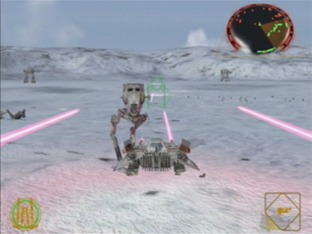 Test Star Wars : Rogue Leader Gamecube - Screenshot 34