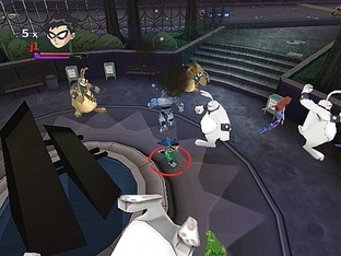 Test Teen Titans Gamecube - Screenshot 2