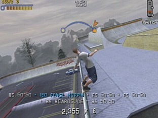 Test Tony Hawk's Pro Skater 3 Gamecube - Screenshot 2