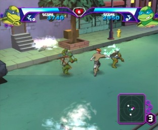 Test Teenage Mutant Ninja Turtles Gamecube - Screenshot 15