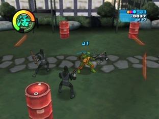 Test Teenage Mutant Ninja Turtles 2 : Battle Nexus Gamecube - Screenshot 1
