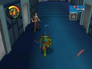 Test Teenage Mutant Ninja Turtles 2 : Battle Nexus Gamecube - Screenshot 3