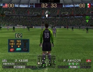 Test Virtua Striker 3 Ver. 2002 Gamecube - Screenshot 17