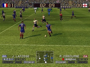 Test Virtua Striker 3 Ver. 2002 Gamecube - Screenshot 6