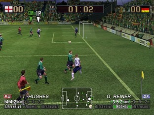 Test Virtua Striker 3 Ver. 2002 Gamecube - Screenshot 7