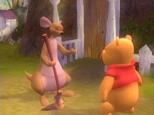 Test Winnie L'Ourson : A La Recherche Des Souvenirs Oublies Gamecube - Screenshot 1