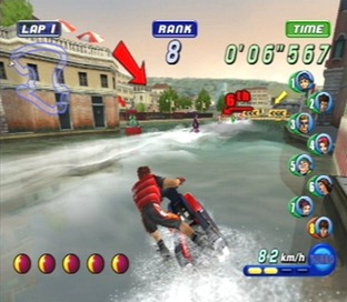 Test Wave Race Blue Storm Gamecube - Screenshot 11