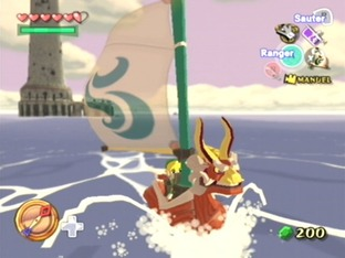 Test The Legend Of Zelda : The Wind Waker Gamecube - Screenshot 35
