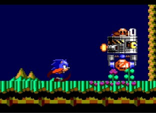 Test Sonic Chaos Game Gear - Screenshot 1