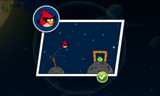 Test Angry Birds Space iPhone/iPod - Screenshot 13