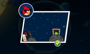 Test Angry Birds Space iPhone/iPod - Screenshot 14
