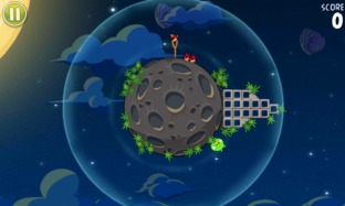 Test Angry Birds Space iPhone/iPod - Screenshot 18