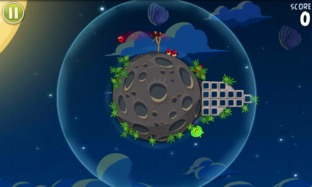 Test Angry Birds Space iPhone/iPod - Screenshot 19