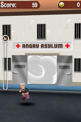 Test Angry Gran Run iPhone/iPod - Screenshot 6