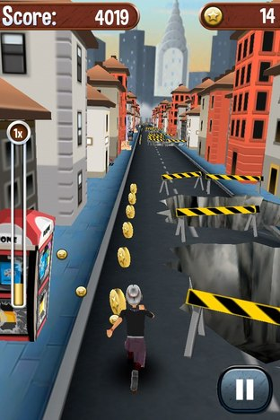 Test Angry Gran Run iPhone/iPod - Screenshot 9