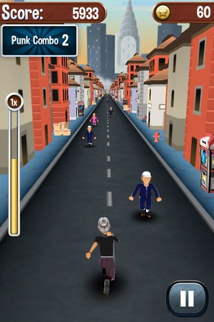 Test Angry Gran Run iPhone/iPod - Screenshot 10