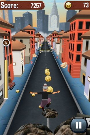Test Angry Gran Run iPhone/iPod - Screenshot 11