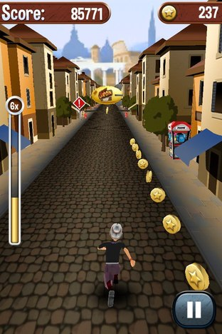 Test Angry Gran Run iPhone/iPod - Screenshot 14