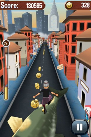 Test Angry Gran Run iPhone/iPod - Screenshot 15