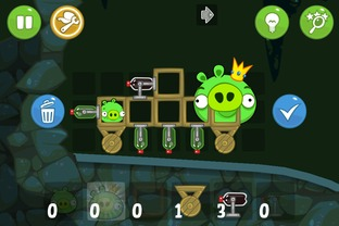 Test Bad Piggies iPhone/iPod - Screenshot 11