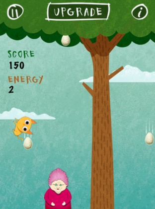 Test Birds vs. Granny and The Meow Maze Kittens iPhone/iPod - Screenshot 1