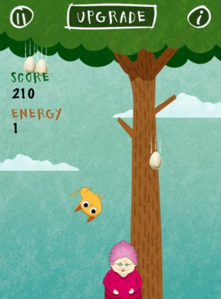 Test Birds vs. Granny and The Meow Maze Kittens iPhone/iPod - Screenshot 2