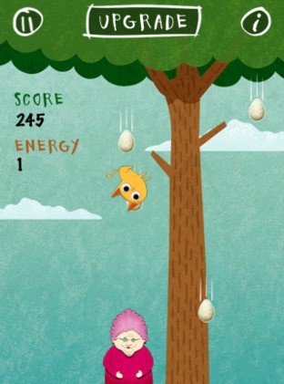 Test Birds vs. Granny and The Meow Maze Kittens iPhone/iPod - Screenshot 3
