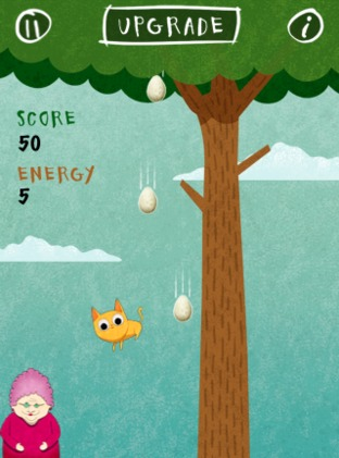 Test Birds vs. Granny and The Meow Maze Kittens iPhone/iPod - Screenshot 6