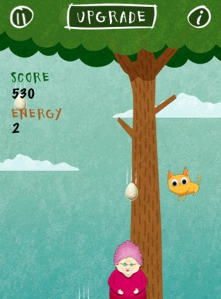 Test Birds vs. Granny and The Meow Maze Kittens iPhone/iPod - Screenshot 10