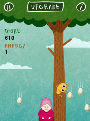 Test Birds vs. Granny and The Meow Maze Kittens iPhone/iPod - Screenshot 12