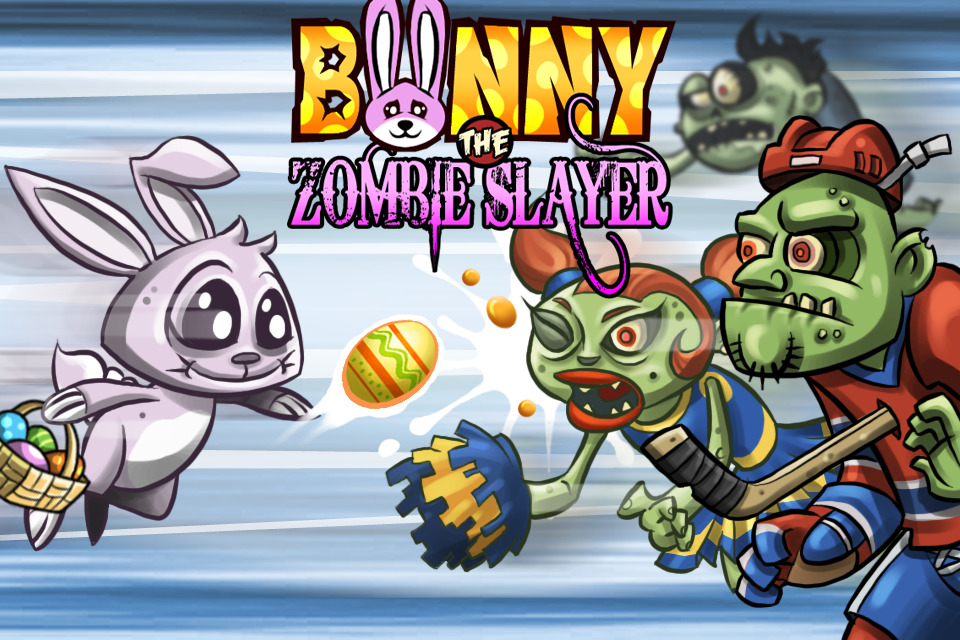 Bunny the Zombie Slayer débarque sur iOS