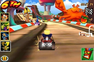 Crash Bandicoot Nitro Kart 3D iPhone - Screenshot 2