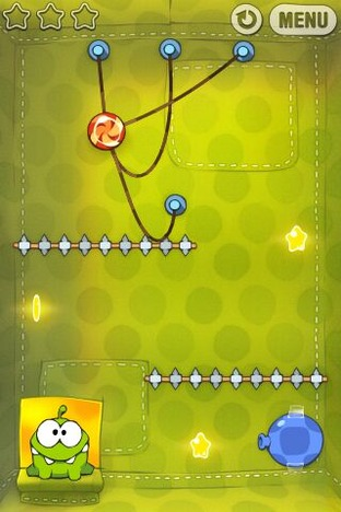 Test Cut the Rope iPhone/iPod - Screenshot 6
