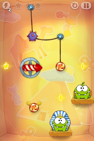 Test Cut the Rope : Time Travel iPhone/iPod - Screenshot 14