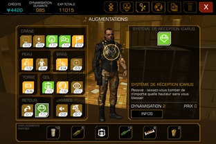 Test Deus Ex : The Fall iPhone/iPod - Screenshot 13